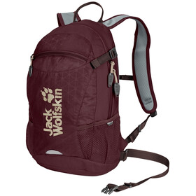 Jack Wolfskin Velocity 12 Backpack port wine grid